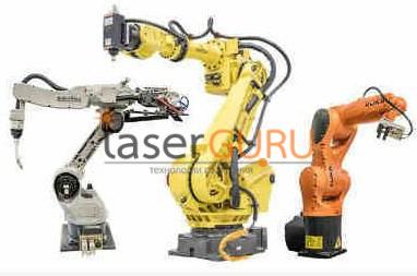Промышленные роботы 3d